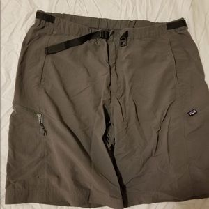 Patagonia XL 100% nylon hiking shorts.